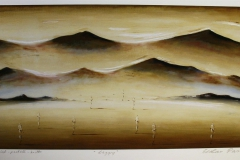 Daggry Print, pastell, kritt (37x75 cm) kr 3600 ur