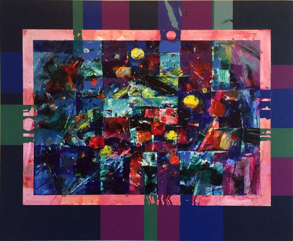 Manefaser Akrylmaleri (58x70 cm) kr 6500