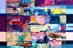Tekstilt landskap (70-70) kr.7.000