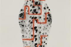 Digital Venus Akryl på papir (70x30 cm) kr 6000 mr