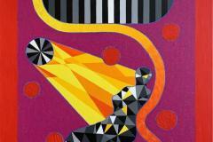 Sun Venus Akrylmaleri (116x90 cm) kr 46000 ur