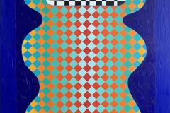 The Visit Akrylmaleri (130x100 cm) kr 57000 ur