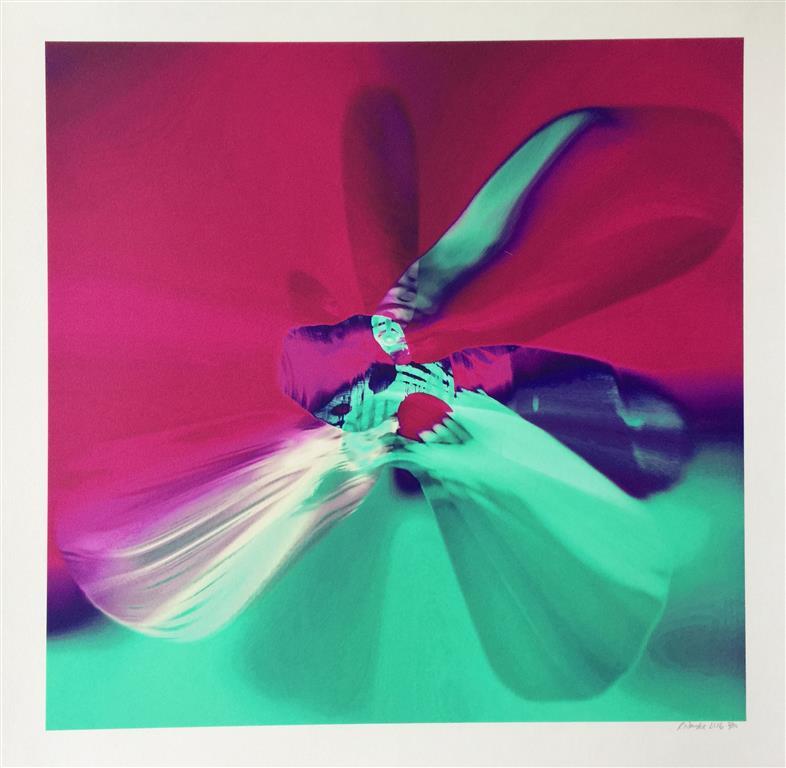 ButterflyEffect lilla Digigrafikk (45x45 cm) kr 4000 ur