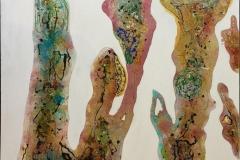 Amobea I Maleri (90x90 cm) kr 10000 ur