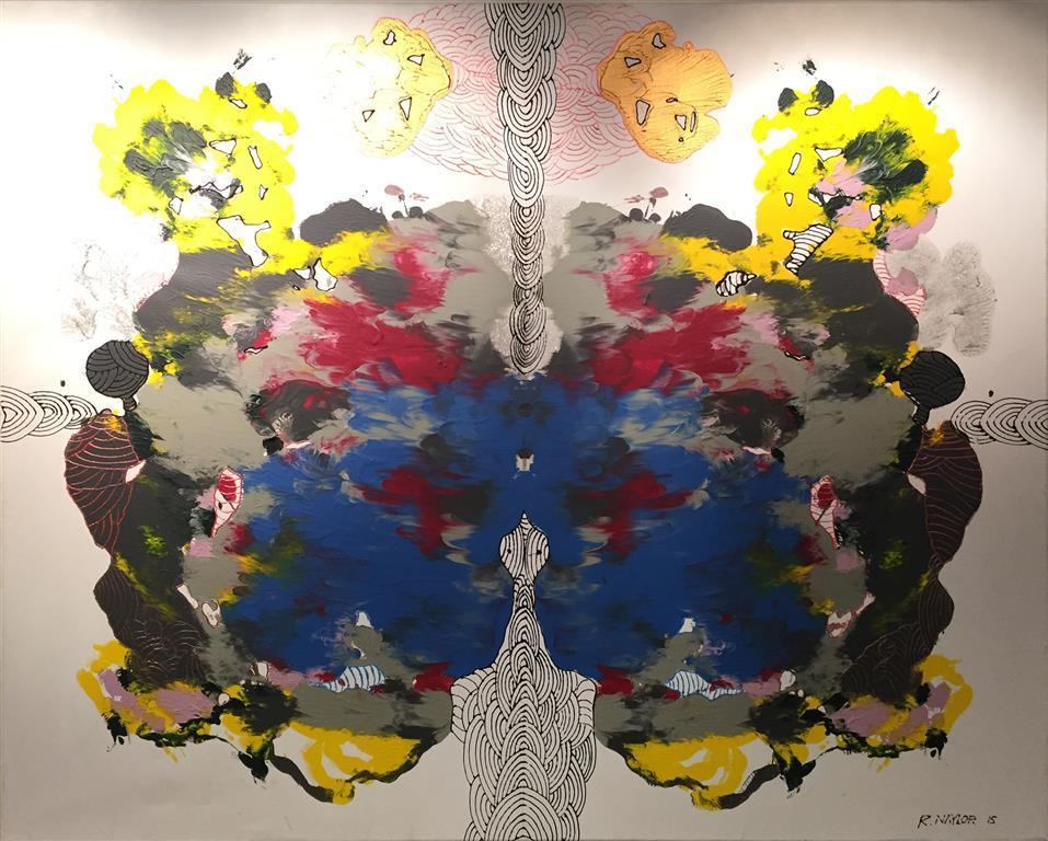 Blu Reservoir Acrylic Paint on Canvas 115x146 cm 20000 ur