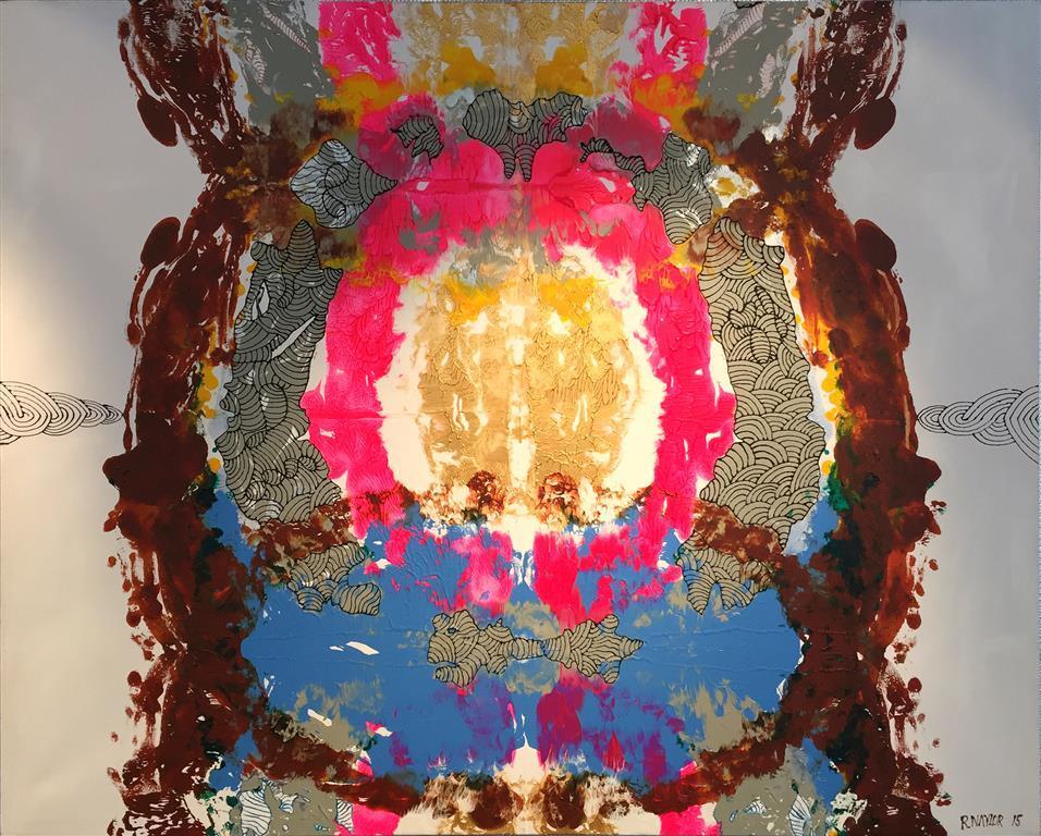 Folding Space nr1 Acrylic Paint on Canvas 124x154 cm 20000 ur