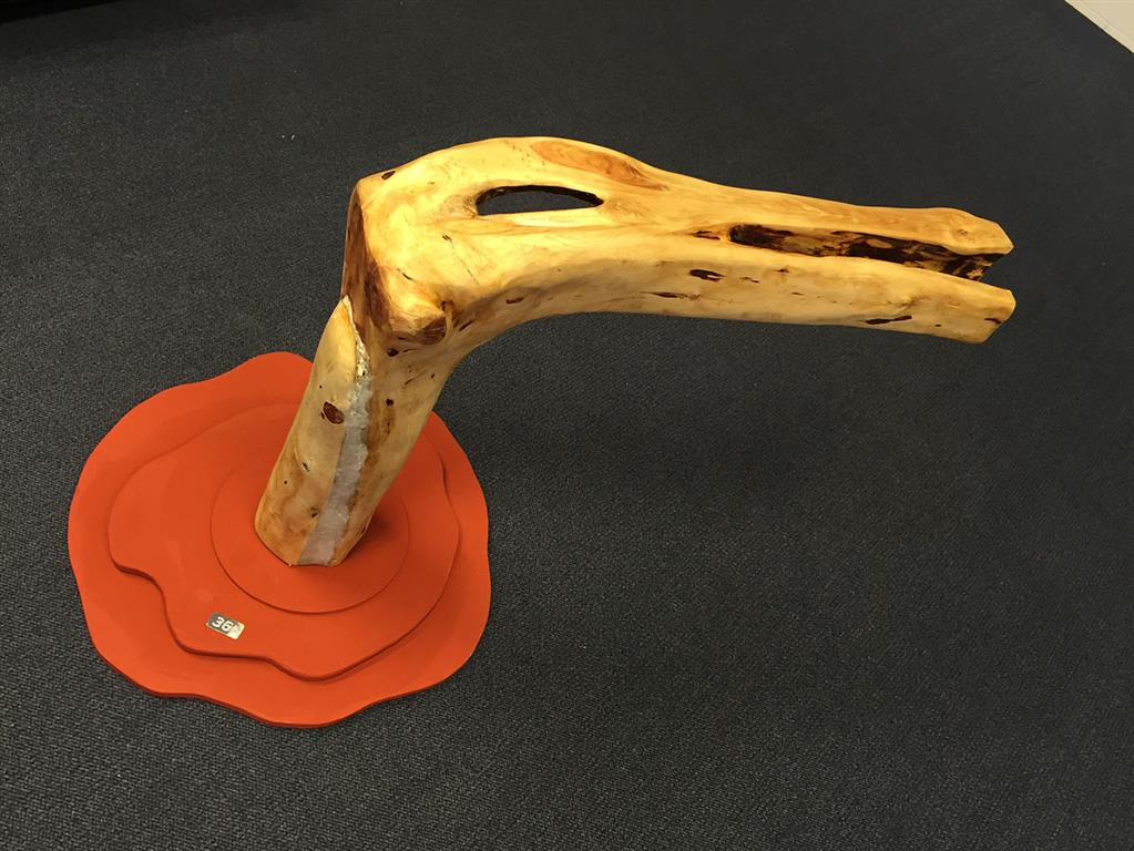 Rhizome Root Seat nr.2 Skulpture H 55 cm 12000