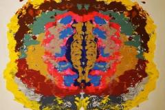 Temple Tiger Acrylic on Canvas 120x156 cm 20000 ur