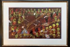 Evighetsmesse Materiaktrykk (51x85 cm) kr 18000 mr