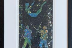Nattjazz Serigrafi (32x18 cm) kr 3000 mr