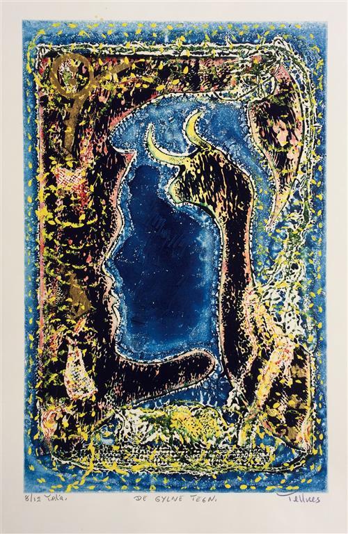De gyldne tegn Met.gr. (45x29 cm) kr 3500 ur