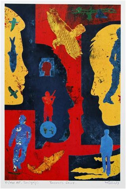 Folkets Gave Serigrafi 45x30 cm 4000 ur