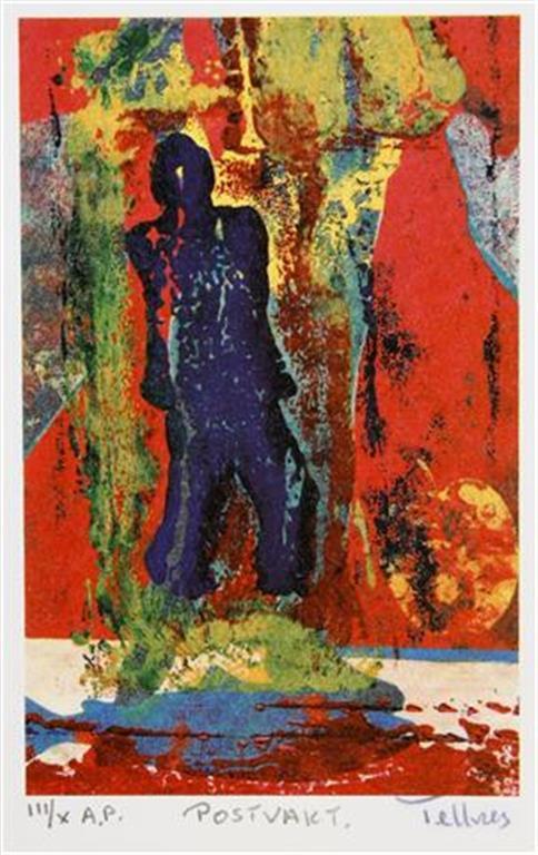 Postvakt A.p. 18,5x12 cm 900 ur