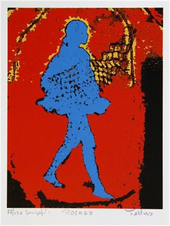 Rosado Serigrafi 18x14 cm 1400 ur