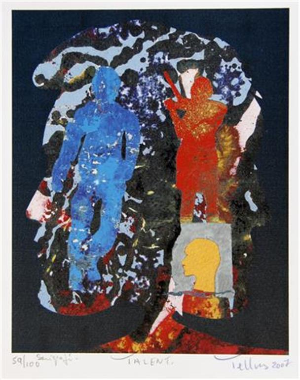 Talent Serigrafi 21x17 cm 1800 ur