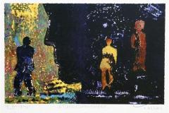 Stjernedroemmere Serigrafi 20,5x33 cm 2400 ur