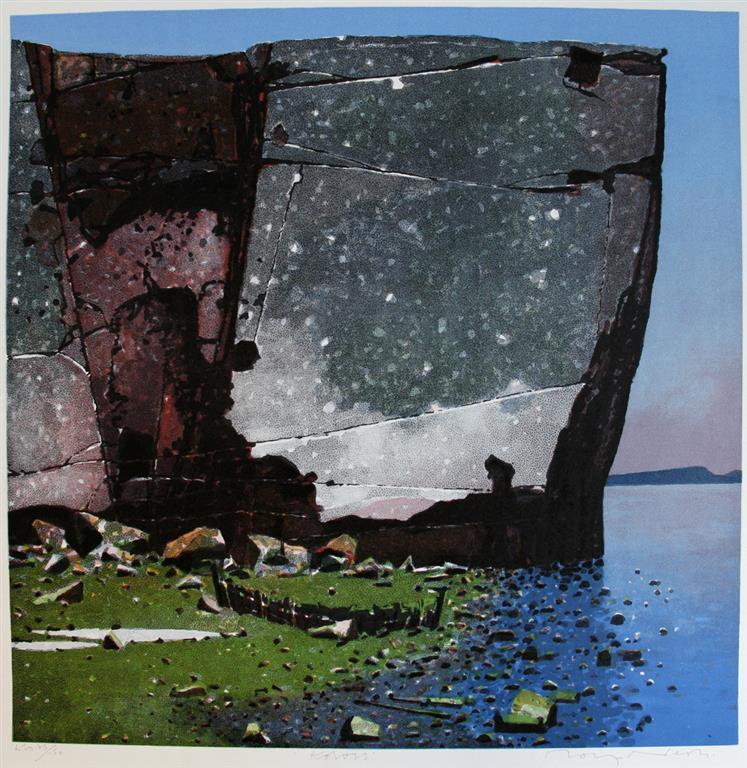 Koloss Litografi (56x56 cm) kr 4000 ur