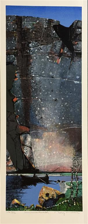 Sommerkveld Litografi (86x33 cm) kr 5000 ur