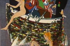 Festen Litografi (33x24 cm) kr 1000 ur