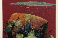 Morgenrøden Litografi (55x55 cm) kr 4000 ur