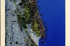 Strandet Litografi (86x33 cm) kr 5000 ur