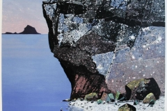 Vest i havet Litografi (55x55 cm) kr 4000 ur