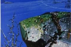 Vinternatt Litografi (36x27 cm) kr 2600 ur