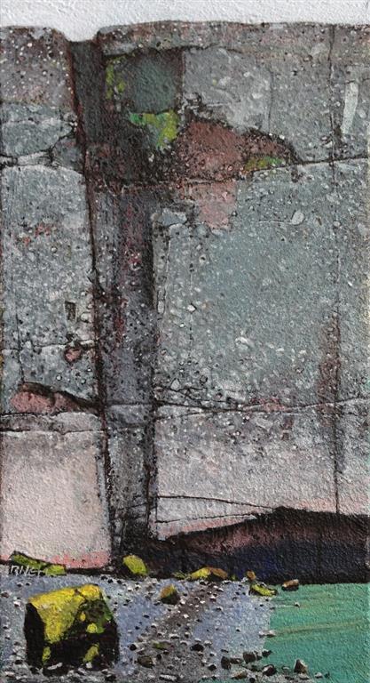 Fjære Akrylmaleri 40x22 cm 12000 mr