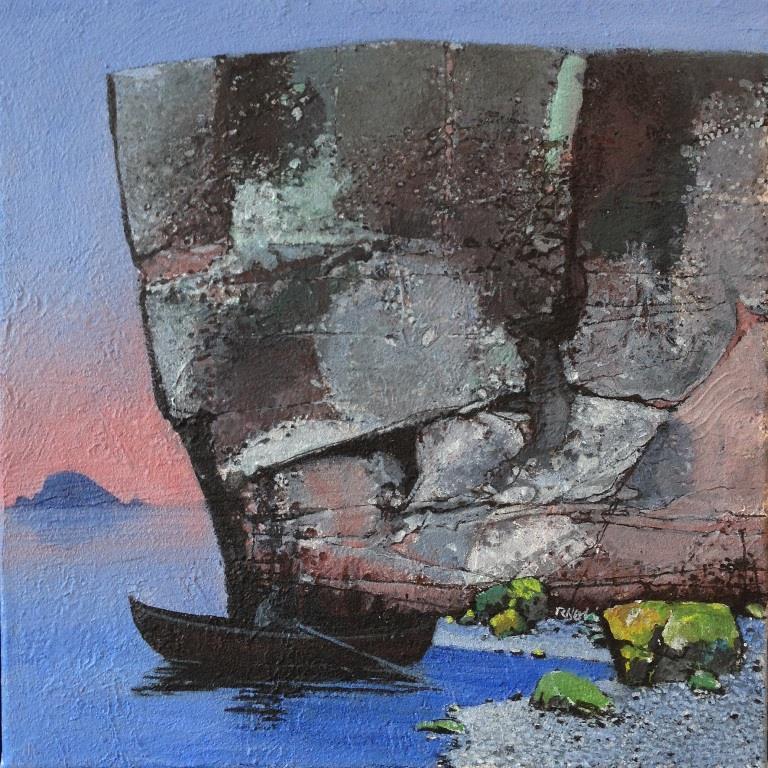 Morgen Akrylmaleri 40xx40 cm 15000 mr