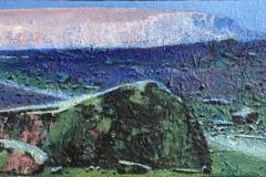 En ny dag Akrylmaleri 24x55 cm 14000 mr
