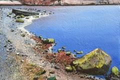 Morgenlys Akrylmaleri 40x40 cm 15000 mr
