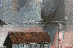 Naust Akrylmaleri 41x27 cm 12000 mr