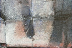 Ved veis ende Akrylmaleri 41x27 cm 12000 mr