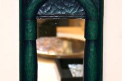 Mørkegrønn drage Speil (34x18 cm) kr 1900