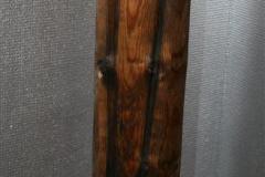 Rundstokk III Treskulptur (H 82 cm) kr 4000