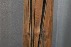 Rundstokk Treskulptur (H 117 cm) kr 5000
