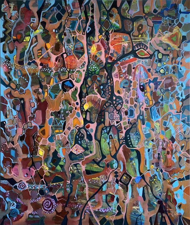 Drøm Oljemaleri (120x100 cm) kr 22000 ur