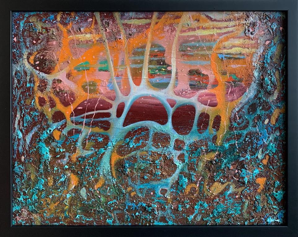 Tidssymbol Oljemaleri (40x50 cm) kr 5000 mr