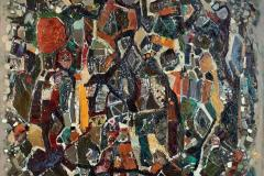 Abstrakt teppe Oljemaleri (65x81 cm) kr 14000 ur