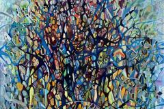 Inspirasjon Oljemaleri (80x80 cm) kr 13000 ur