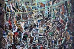 Sivilisasjon Oljemaleri (120x80 cm) kr 25000 ur