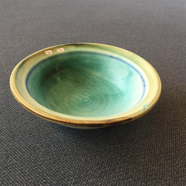 Turkis skål 1by Stentøy  (Ø22,5xH 6,5 cm) kr 380