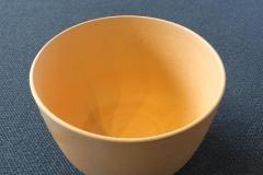 Skål oransje 5 by Porselen (Ø17xH12 cm) kr 600