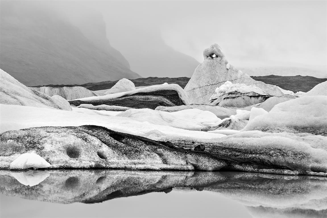Öræfajökull Fotografi (80x105 cm) kr 6000 ur