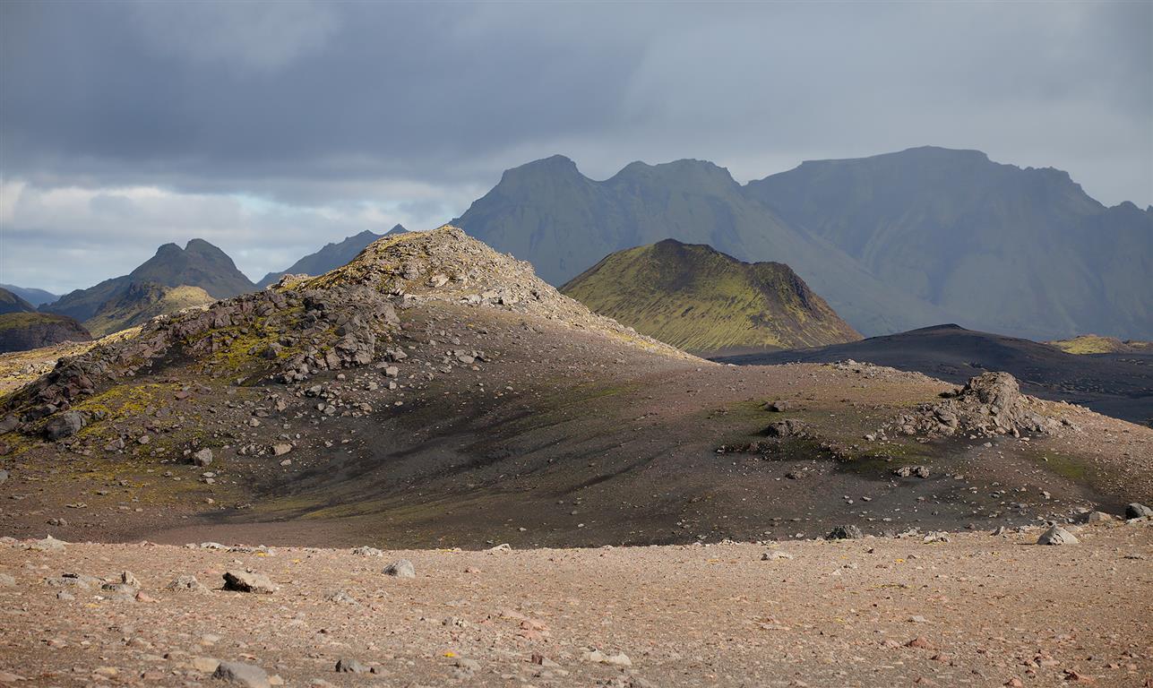 Mælifellsandur Fotografi (55x95 cm) kr 5600 ur