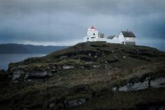 Erkna Lighthouse Fotografi (50x62 cm) kr 2700 ur
