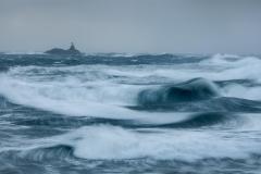 Rossholmen i Storm IV Fotografi (55x100 cm) kr 6250 ur
