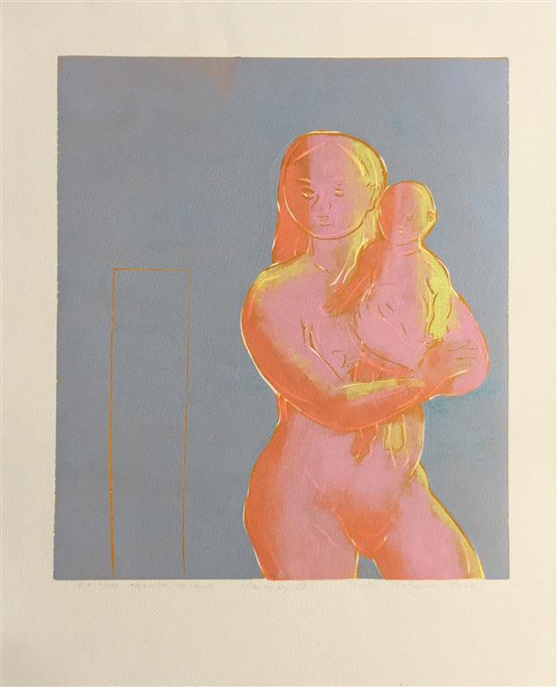Du og jeg III Tresnitt (34,5x30 cm) kr 1900 ur