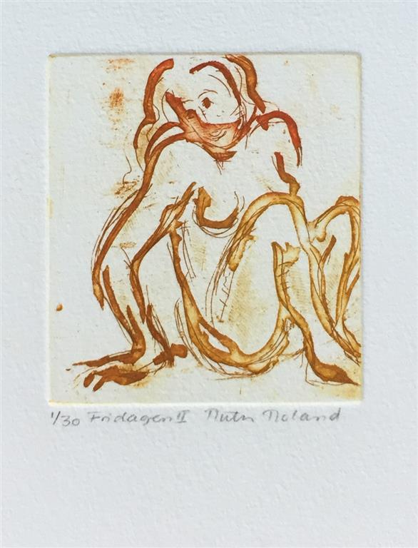 Fridagen II Etsning (8x7,5 cm) kr 300 ur
