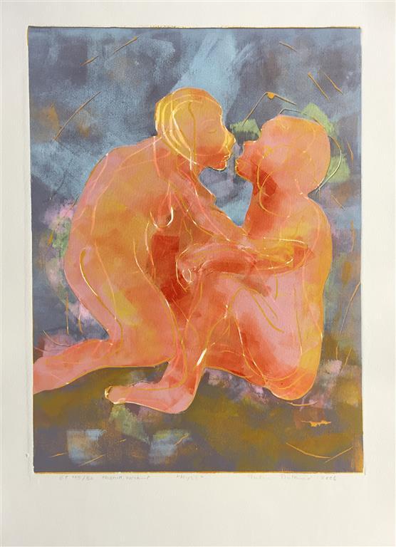 Kyss Tresnitt (39x29,5 cm) kr 1900 ur